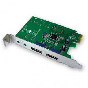 2 Port eSATA PM card 100019